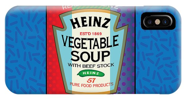 Pop Vegetable Soup IPhone Case