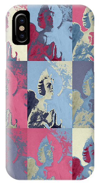 Popart An Angel IPhone Case