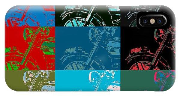 Popart Motorbike IPhone Case
