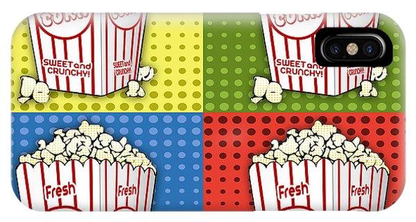 Popcorn Pop Art-jp2375 IPhone Case