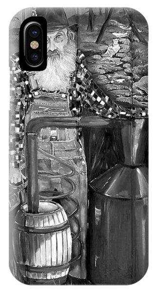 Popcorn Sutton - Black And White - Legendary IPhone Case