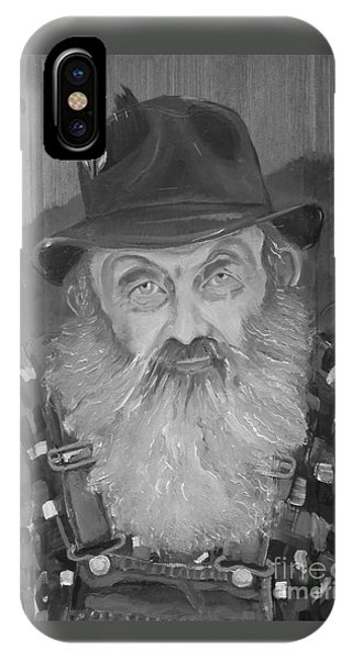 Popcorn Sutton - Jam - Moonshine IPhone Case
