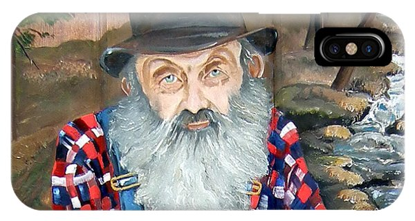 Popcorn Sutton - Moonshine Legend - Landscape View IPhone Case