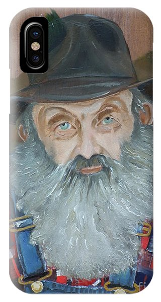 Popcorn Sutton - Moonshiner - Portrait IPhone Case