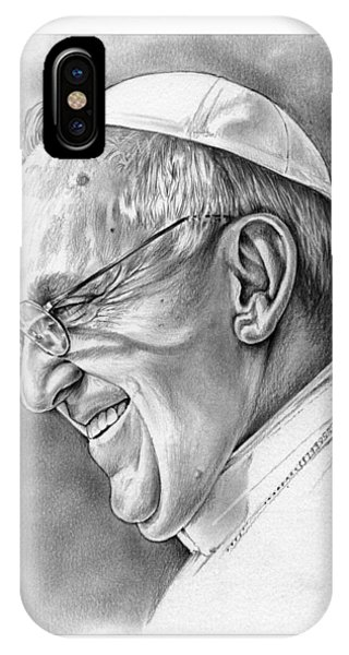 Pope Francis IPhone Case