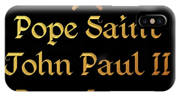Pope Saint John Paul II Pray For Us IPhone Case
