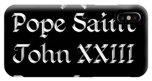 Pope Saint John Xxiii Pray For Us IPhone Case