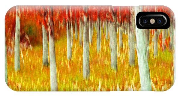 Poplars IPhone Case