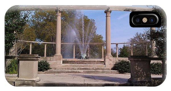 Popp Fountain New Orleans City Park IPhone Case