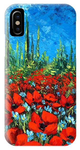 Poppie Field IPhone Case