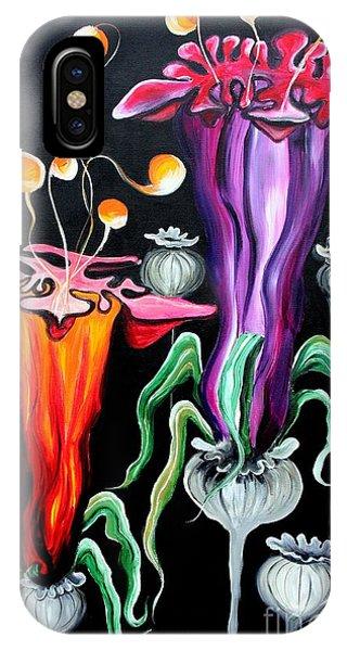 Poppies Fantasy.. IPhone Case