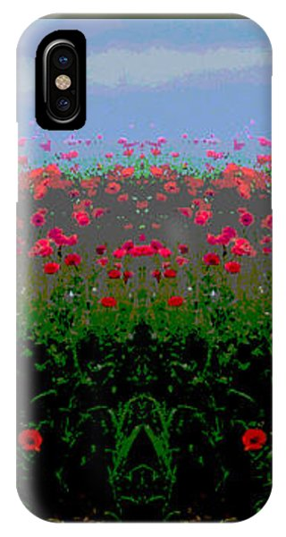 Poppies Field IPhone Case