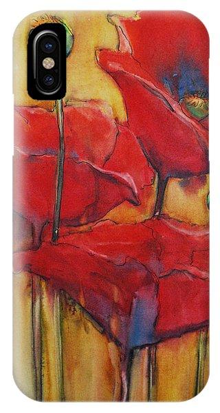 Poppies IIi IPhone Case