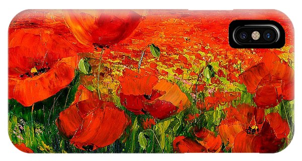 Poppies iPhone Case - Poppies by MGL Meiklejohn Graphics Licensing