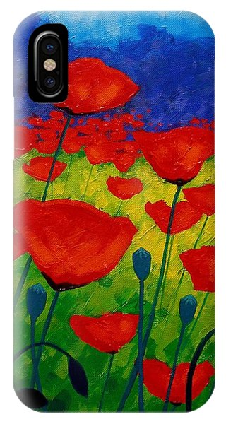 Poppy Corner II IPhone Case