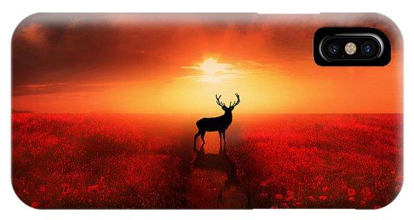 Poppies iPhone Case - Poppy Field Dreams by Jennifer Woodward
