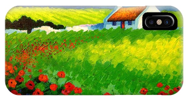 Poppy Field - Ireland IPhone Case