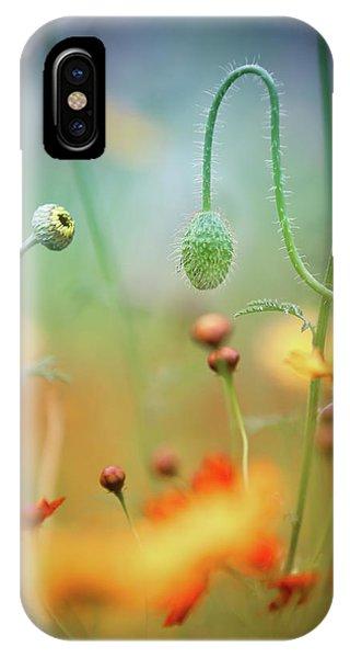 Flower Gardens iPhone Case - Poppy Field by Steve Moore