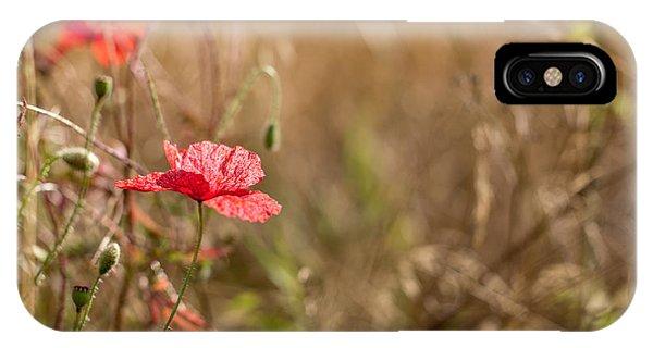 Poppy. IPhone Case