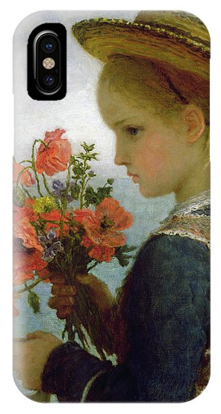 Poppy Girl IPhone Case