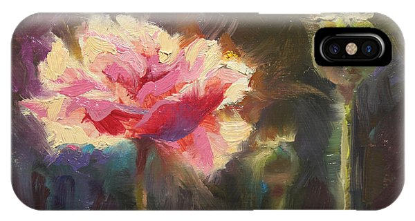 Poppy Glow IPhone Case
