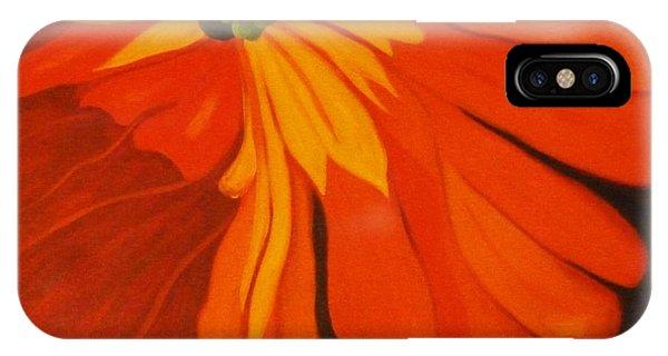 Stamen iPhone Case - Poppy by Nancy Merkle