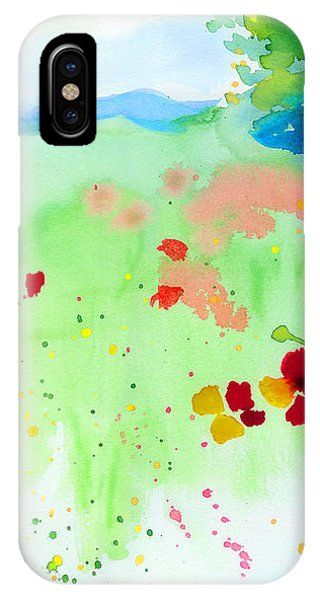 Poppy Passion IPhone Case