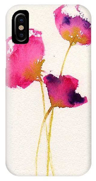 Poppy Pirouette IPhone Case