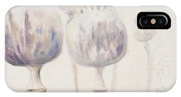Poppies iPhone Case - Poppy Seeds II by Patricia Pinto