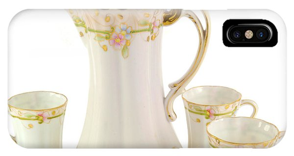 Porcelain Pitcher And Cups IPhone Case