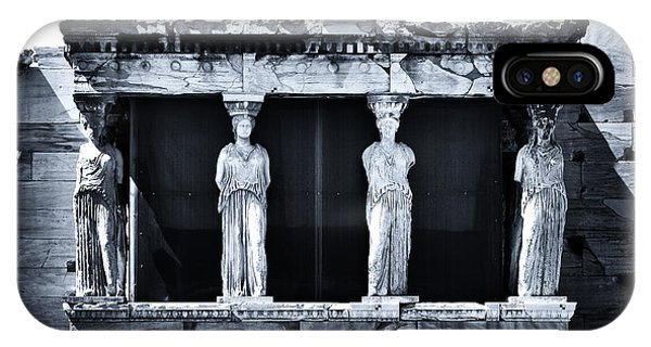 Porch Of The Caryatids IPhone Case