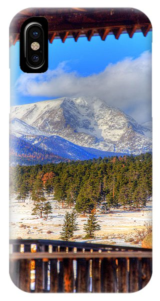 Porch View 4166 IPhone Case