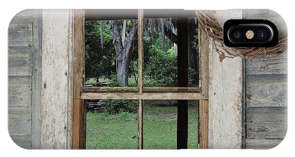 Porch Window IPhone Case