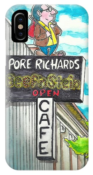 Pore Richards IPhone Case