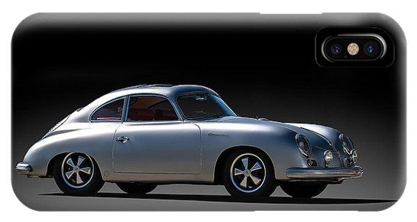 Mancave iPhone Case - Porsche 356 Outlaw by Douglas Pittman