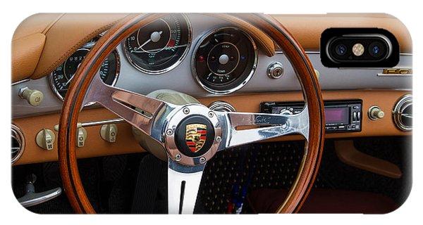 Porsche 356b Super 90 Interior IPhone Case