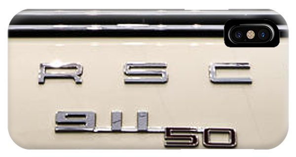 Porsche 50th Anniversary Rear Badge IPhone Case