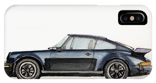 Porsche 911 930 Turbo IPhone Case