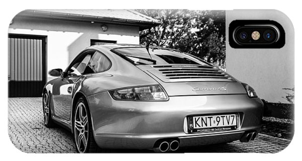 Porsche 911 Carrera 4s IPhone Case