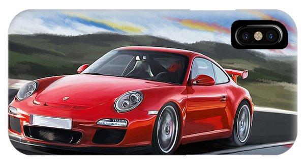 Porsche 911 Gt3 IPhone Case