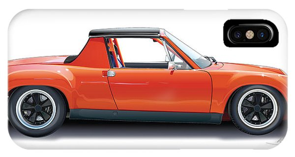 Porsche 914-6 Gt IPhone Case