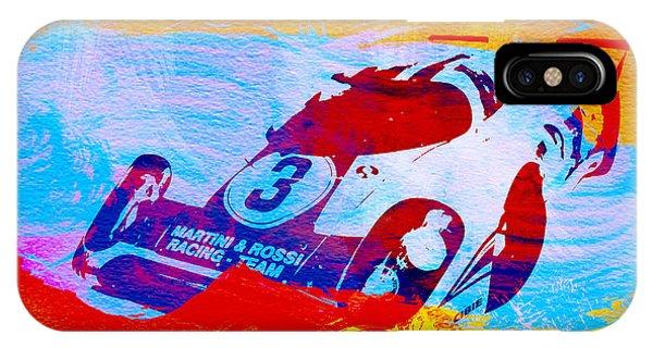 Martini iPhone Case - Porsche 917 Martini And Rossi by Naxart Studio