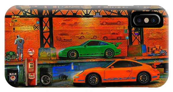 Porsche Depot IPhone Case
