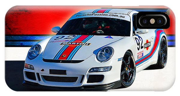Porsche Gt3 Martini IPhone Case