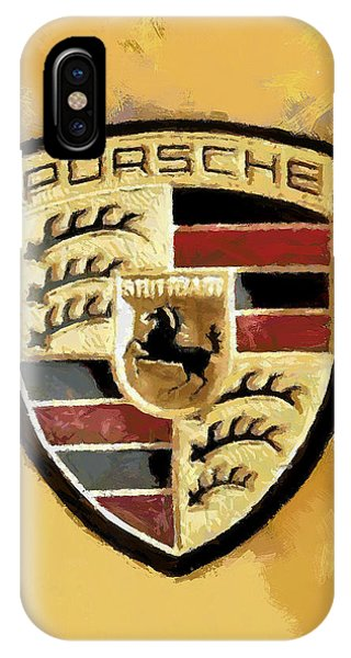 Porsche Heritage IPhone Case