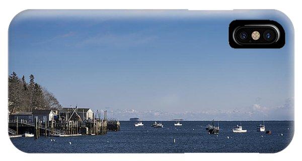 Port Clyde Harbor IPhone Case