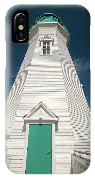 Port Dalhousie Lighthouse 9057 IPhone Case