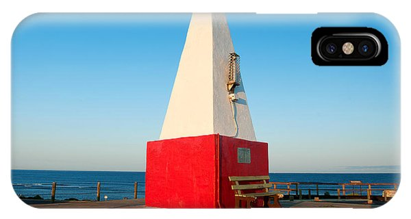 IPhone Case featuring the photograph Port Denison Obelisk by Yew Kwang