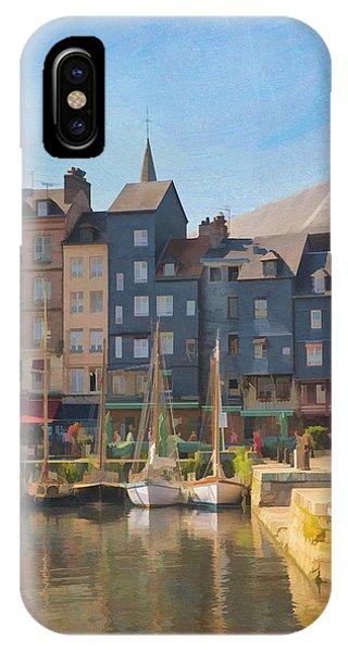 Port D'honfleur IPhone Case