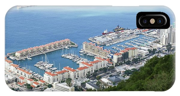 Psi iPhone Case - Port Of Gibraltar by Photostock-israel